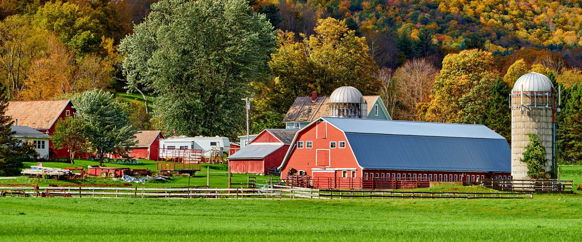 Farm landscape - personal insurance services